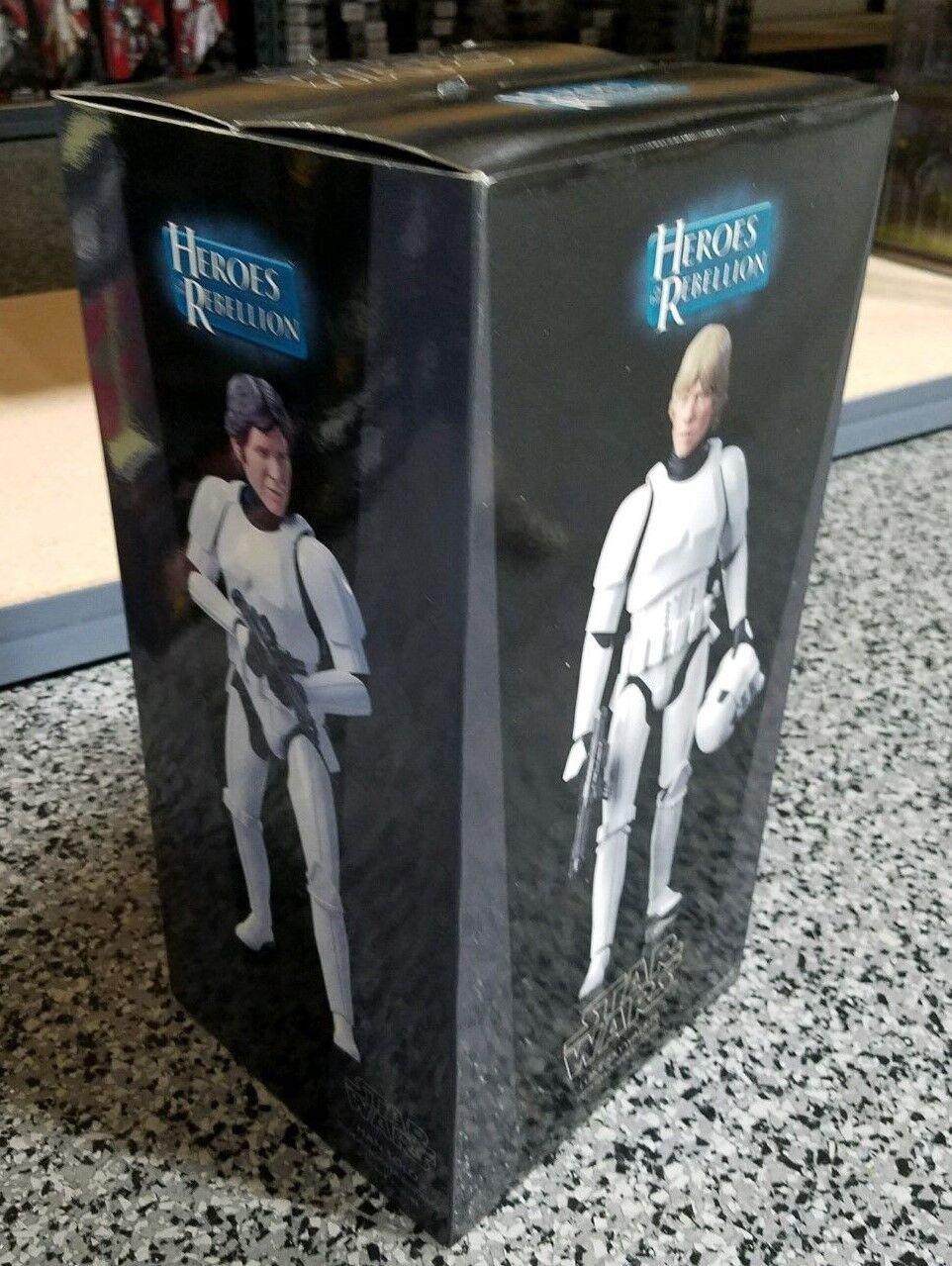 Luke Skywalker and Han Solo Stormtrooper STAR WARS SIDESHOW 1:6 Scale