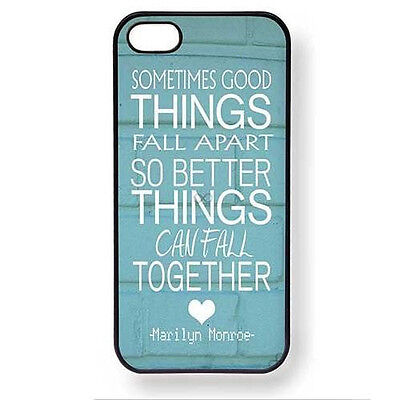 Funny Quotes For Life Love Plastic Case Hard Cover For iPhone 4 4S 5 5G 5S 5C
