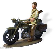 Zinnsoldaten, Motorrad 1:30, Norton Four, Sergeant U.S. -SMI024