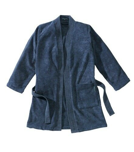 Cocoon Unisex Microfiber Terry Travel Bathrobe - Large