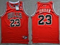 NBA Swingman Jersey MICHAEL JORDAN # 23 BULLS  Basketball Retro Red/Black S/M/L
