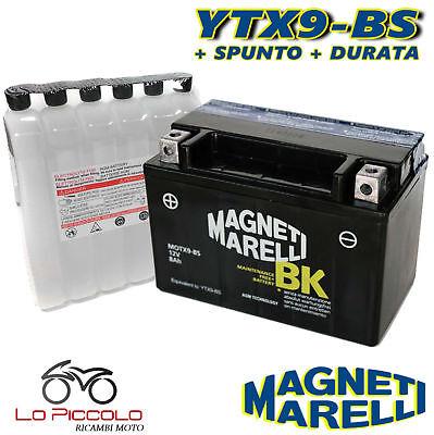 2019 Nuovo Stile Batteria Magneti Marelli Ytx9-bs Sigillata Arctic Cat Dvx 400 2004 2005 2006