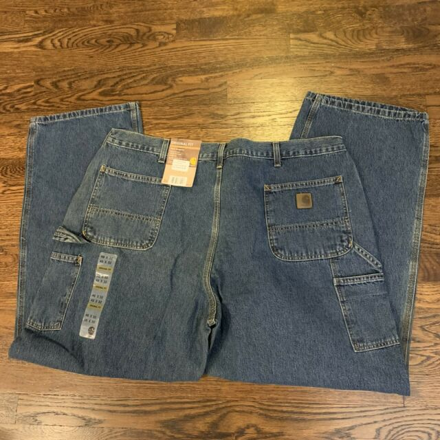 Mens Carhartt Carpenter Dungaree Fit Work Jeans