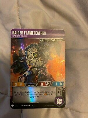 Infantry Soldier Private Sideswipe Transformers TCG M//NM Wave 3