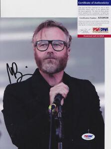 Matt-Berninger-The-National-Signed-Autograph-8x10-Photo-PSA-DNA-COA-3