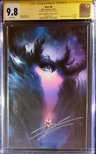 🔥🚨 THOR 4 CGC SS 9.8 2nd Print Virgin SIGNED by Donny Cates 🔥1st BLACK WINTER