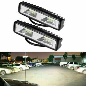 2pcs-6-034-48W-LED-Arbeitsscheinwerfer-Flutlicht-Driving-Fog-Lampe-Offroad-LKW-SUV
