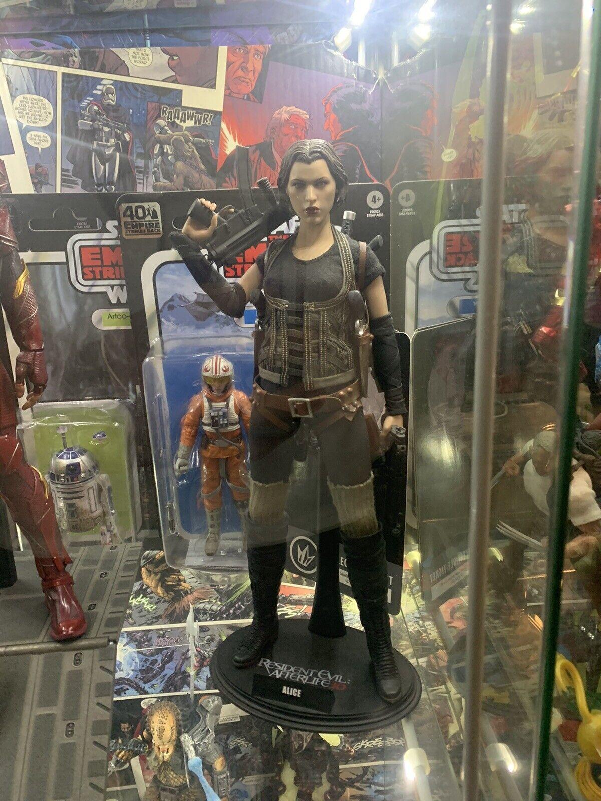 Hot Toys Mms 139 Resident Evil Afterlife Alice Milla 1 6 Gun