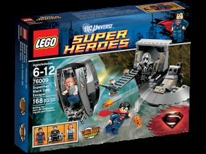LEGO DC universe super heroes 76009 superman Black zero en fuite NEUF