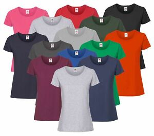 Lady-Fit Valueweight Damen T-ShirtFruit of the Loom