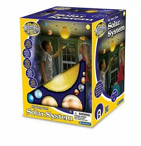 Details about Solar System Ceiling Light Mobile Space Kids Remote Control  Planets Rotate Sun