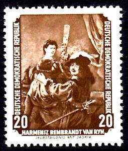 507 postfrisch DDR Briefmarke Stamp East Germany GDR Year Jahrgang 1955