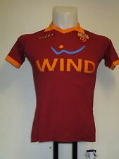 AS ROMA 2012/13 HOME SHIRT BY KAPPA SIZE XL/BOYS BRAND NEW WITH TAGS