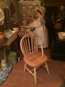 Casa de muñecas en miniatura 1:12 Escala De Cocina Muebles De Pino Mesa Rectangular