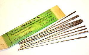 """12 NOS UNIMAT LATHE JIG Scroll SAW # 117-500  Wood BLADES 5"""" x 3/32 12tpi WL1344"""