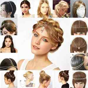 Womens-Fashion-Metal-Rhinestone-Head-Chain-Jewelry-Headband-Head-Piece-Hair-band