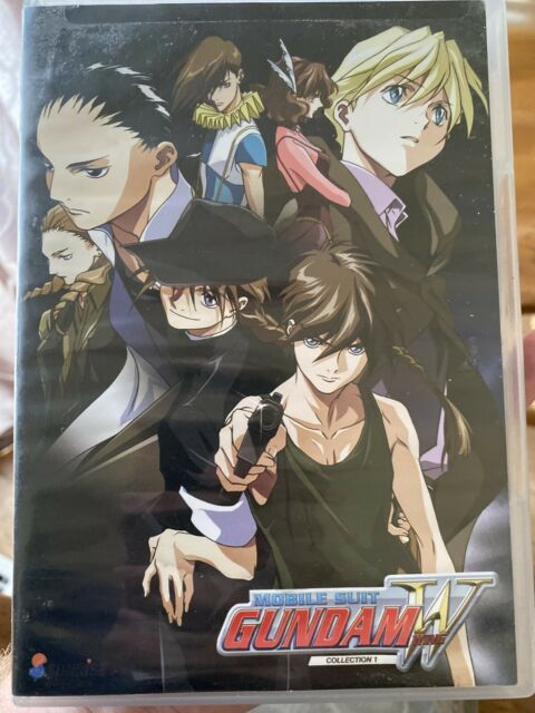 Mobile Suit Gundam Wing: Collection 1 (DVD, 2017, 5-Disc Set)