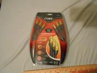 Coby Comp-06 6 Feet Hdtv Hd Tv High Resolution Component Cable Gold Plated 40946