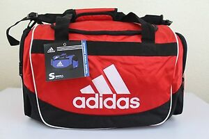 "d1367eaf1b NWT ADIDAS DEFENSE SMALL DUFFEL Sport Gym Travel Carry On Bag 19"" x ..."