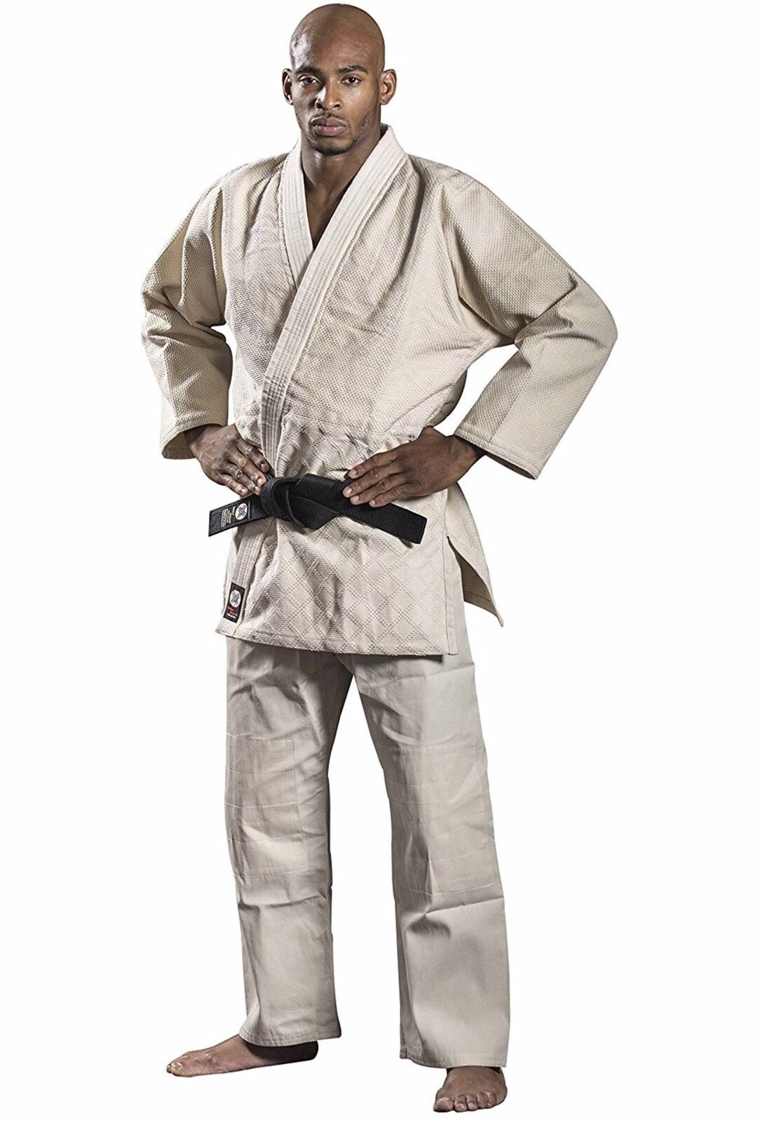 Ronin Brand Judo Karate Gi Size 2 Single Weave Unbleached
