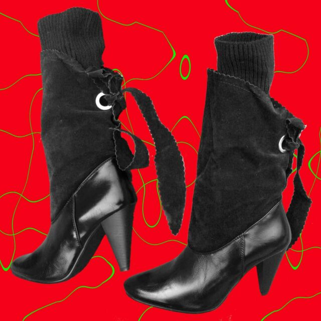 STIVALI DONNA tacco basso scontati del 70% scarpe decoltè ingrosso e dettaglio