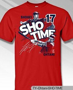 Los Angeles Angels MLBPA SHOHEI OHTANI  17 Sho Time Youth Boys Tee ... 560249e65