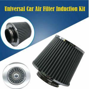 Set-Filtro-Dell-039-Aria-Pezzi-Moto-Atv-76mm-Diametro-Fredda-Morsetto-Universal-IT