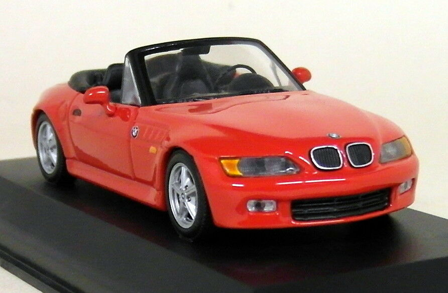 Minichamps 1 43 Scale - 430 024330 BMW Z3 2.8 Cabriolet Red Diecast Model Car