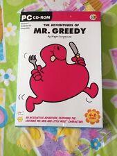 Mr Men Little Miss The Adventures of Mr Greedy Windows PC CD Rom Brand New
