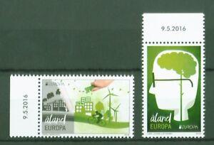 Aland-2016-Europa-Cept-think-green-Umwelt-Gruen-denken-Nr-425-26