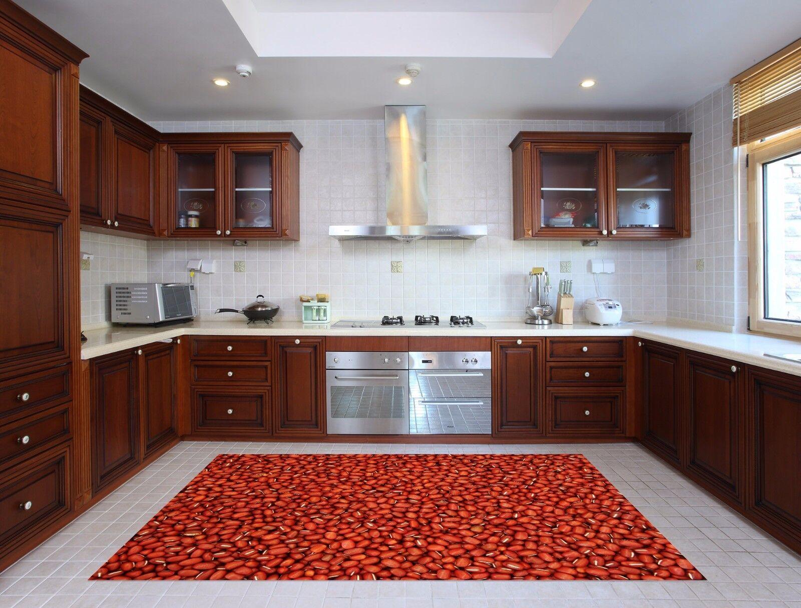 3D ROT Beans 5 Kitchen Mat Floor Murals Wall Print Wall AJ WALLPAPER AU Kyra