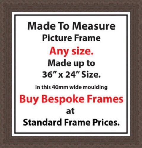 Custom Made Customised Picture Framing Photo Frames | 40 Mm Wide ...