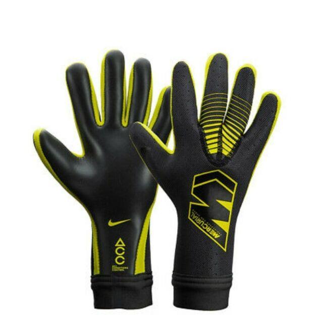 Hizo un contrato progenie Aparador  Nike GK Mercurial Touch Elite Soccer Goalkeeper Gloves Sz 8 ACC Gso356 for  sale online   eBay