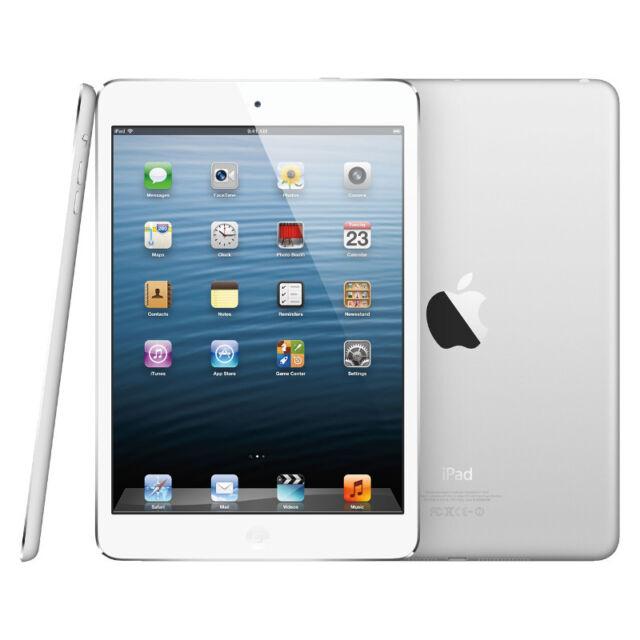 Apple iPad mini 1st Generation Wi-Fi 64GB (7,9 Zoll) - Weiß & Silber