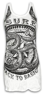 Dynamisch Sure Damen Träger-kleid Om Aom Symbol Buddhismus Hindu Goa Psy Festivals S M L Delikatessen Von Allen Geliebt