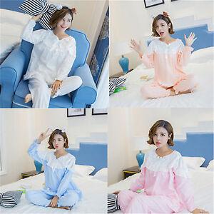 51d976897b Image is loading Womens-Sweet-Cute-Lolita-Princess-Vintage-Style-Sleepwear-