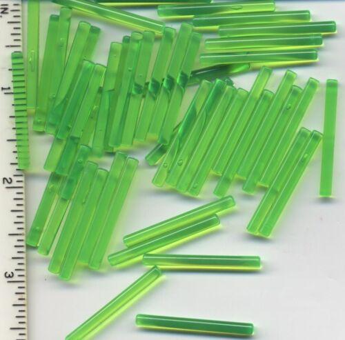 LEGO x 50 Trans-Bright Green Bar 4L NEW lightsaber blade bulk lot Jedi