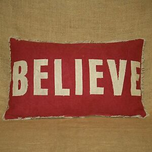 Believe-Throw-Pillow-with-Candy-Cane-Print-Back-Christmas-Primitives-by-Kathy