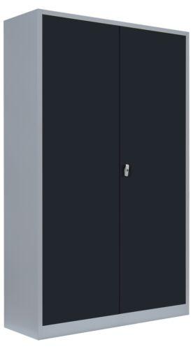 XXL Aktenschrank Büroschrank Metallschrank Stahlschrank Lagerschrank 530378