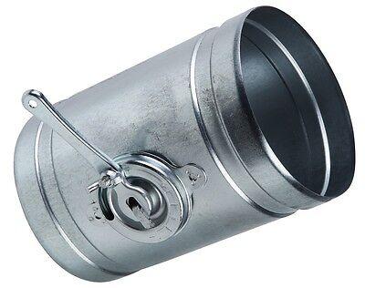 Drosselklappe Lüftung Ø 80 100 125 150 200 250 Mm Alu-flex-rohr Wickelfalzrohr Hochwertige Materialien