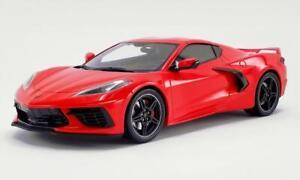 BRAND NEW 2020 C8 Corvette 1/18 BEAUTIFUL DIECAST by GT Spirit US028