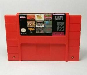 100 In 1 Super Game Cartridge 16-bit Multicart Ntsc Snes For Super Nintendo New