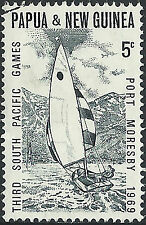 PNG 1968 5c 3rd South Pacific Games  VFU  (49)  Very Clean