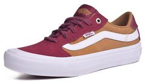 1df132f26f Vans Style 112 Pro Men s Ultracush Burgundy Bronze Skateboard Shoes ...