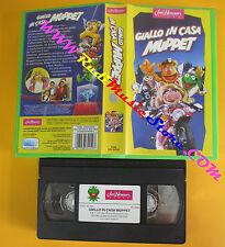 VHS film GIALLO IN CASA MUPPET 1994 JIM HENSON VS 4476 97 minuti (F152) no dvd