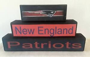 new-england-patriots-3PC-free-standing-wood-stackable-signs-football-father-nfl