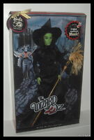 Mattel Barbie Doll Wizard Of Oz Wicked Witch Ot The West Pink Label