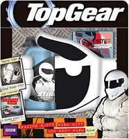 In Box Top Gear Stig Wash Mit & Shower Gel Gift Set