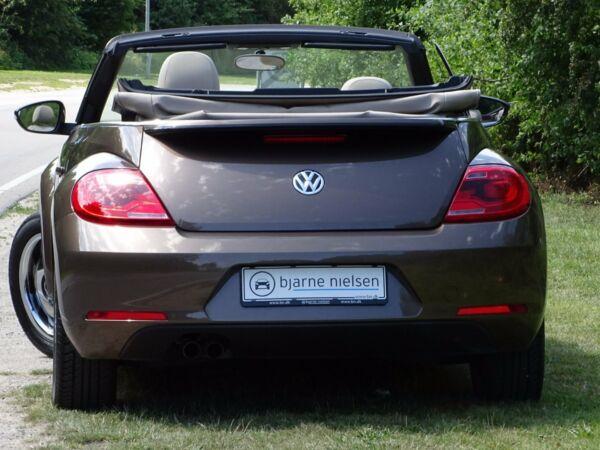 VW The Beetle 1,4 TSi 160 Design Cabriolet DSG - billede 4