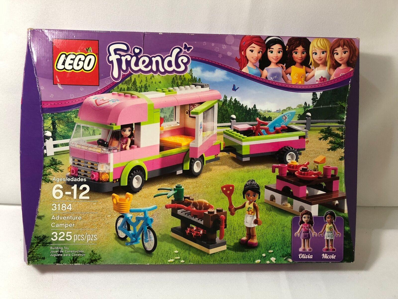 Lego 3184 Friends aventure Camper 325 pièces Nouveau